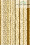Панель ПВХ с термопечатью, 150 Золотистый классик, 3000x250x8 мм