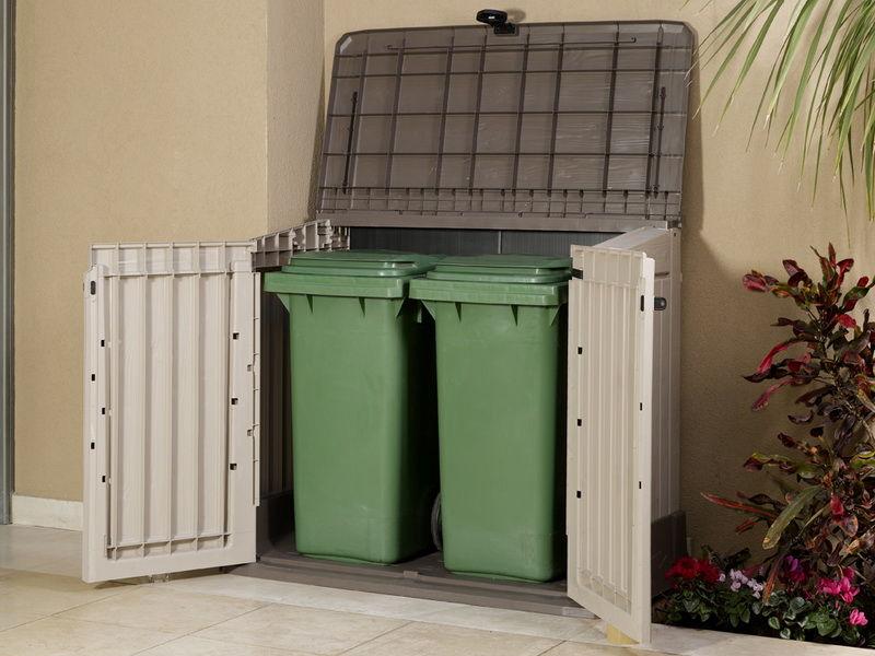 Уличный ящик для мусора